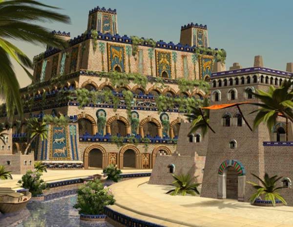 Los jardines colgantes de babilonia documental for Abraham mateo el jardin prohibido